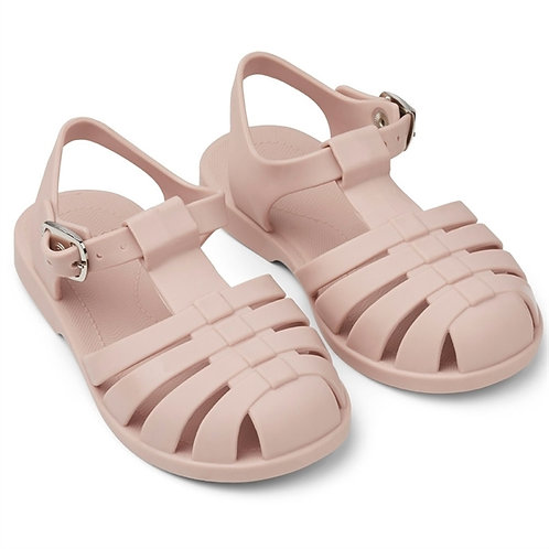 Powder Pink Jelly Sandals