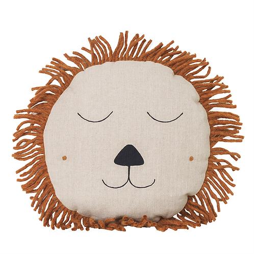 Handmade Natural Lion Cushion
