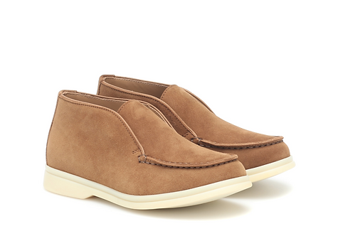 Loro Piana - Sahara Open Walk Suede Ankle Boots