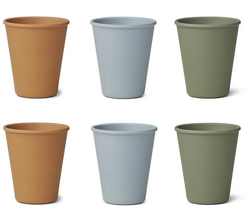 Natural Mix Bamboo Cup Set