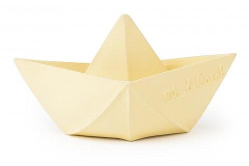 Oli & Carol - Origami Boat - Vanilla