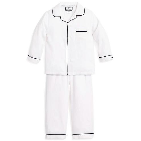 Classic Navy Piping Pajamas