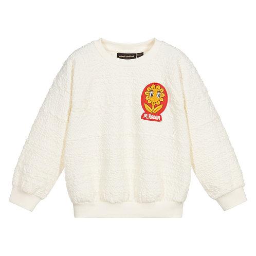 Mini Rodini - Ivory Textured Sweatshirt
