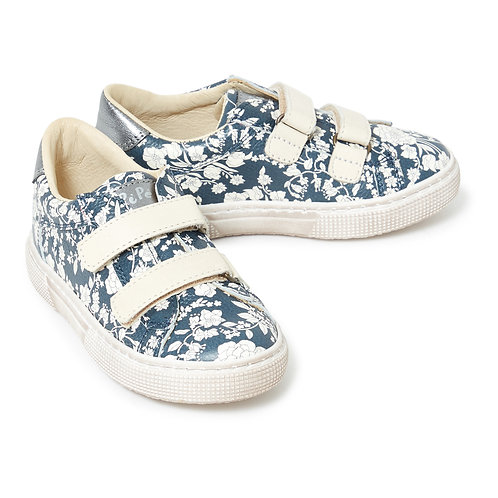 Pèpè - Leather Floral Shoes