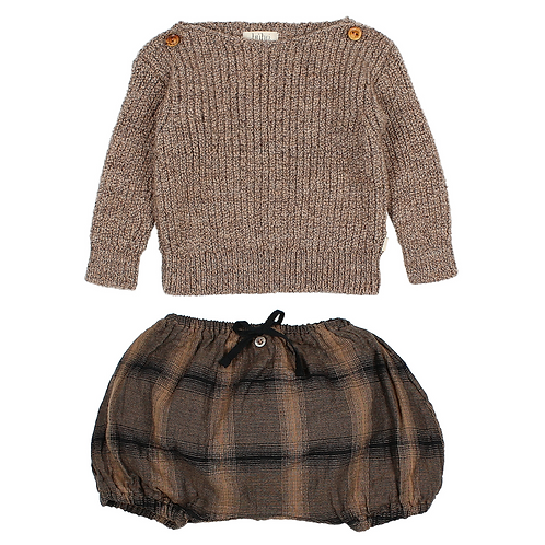Jacques Knit Jumper & Poppy Bloomer