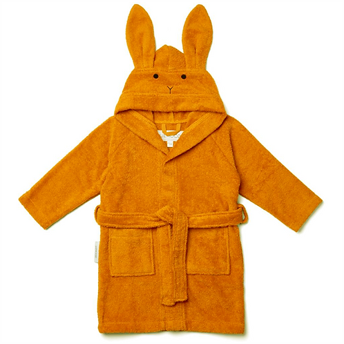Bunny Robe - Mustard
