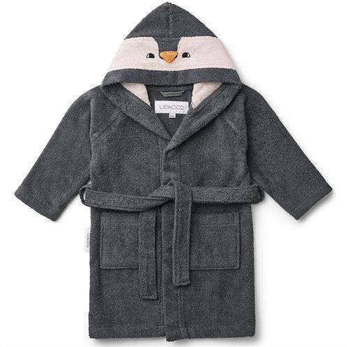 Penguin Robe - Stone