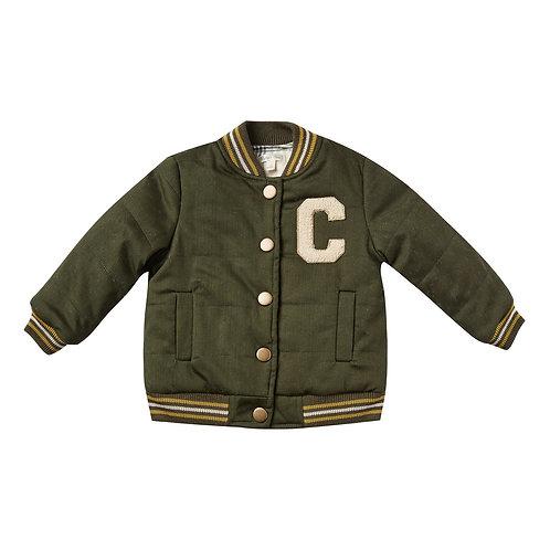 Rylee & Cru - Khaki Bomber Jacket