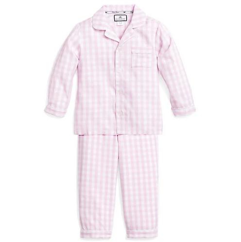 Pink Gingham Pajama