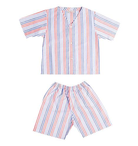 Maison Balena - Red Stripe Pajamas