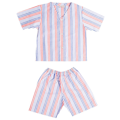 Maison Balena - Red Stripe Pajamas