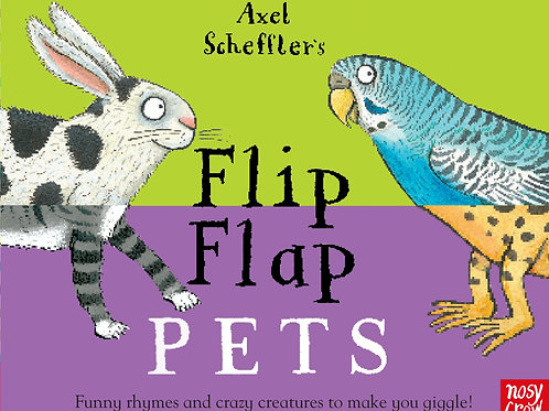 Flip Flap Pets Book