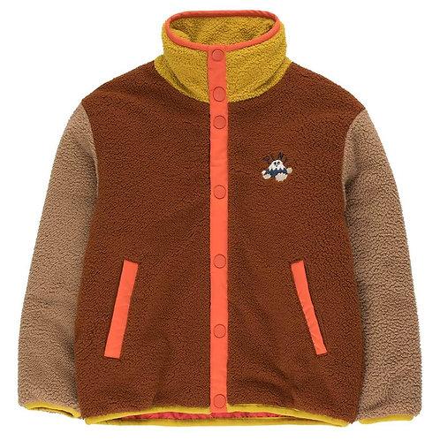 Brown Colorblock Jacket