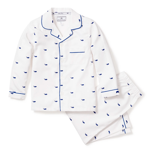 Whales Pajama Set
