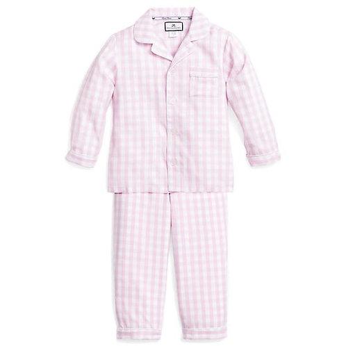 Pink Gingham Pajama Set