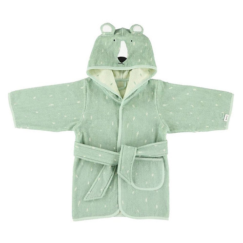 Mr. Polar Bear Bathrobe