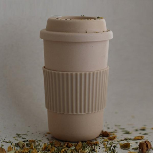 Bamboo Reusable Coffee Cup - Rye