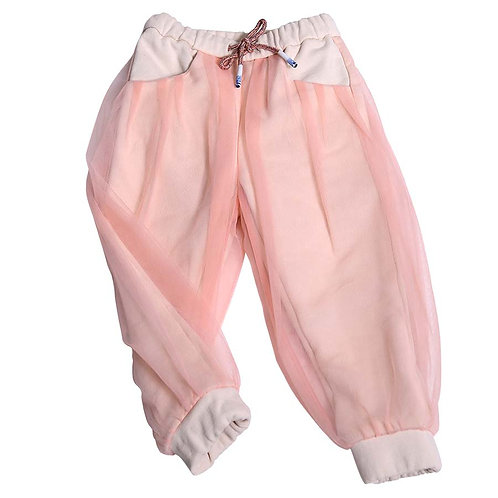 Margaretha Track Pants - Pink/Off White