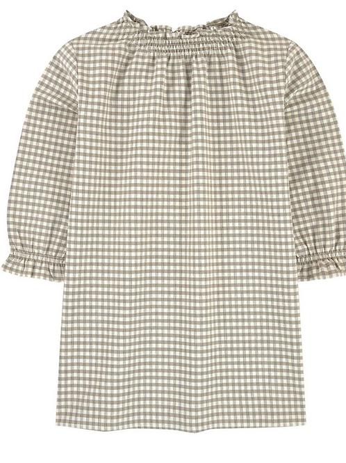 Beige Flannel Dress