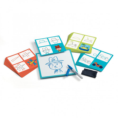 Step by Step Drawing Kit