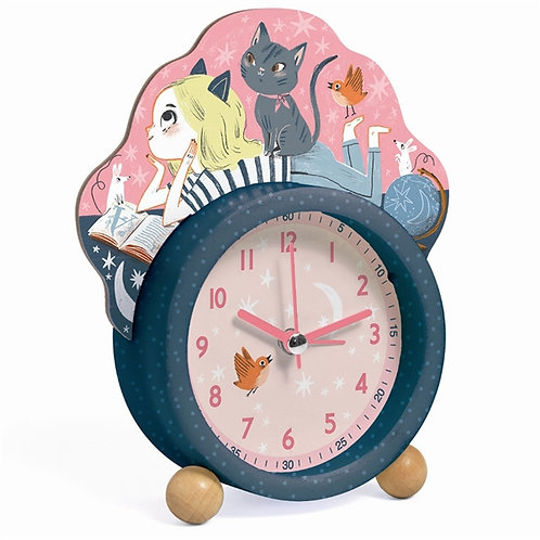 Wondered Girl Alarm Clock