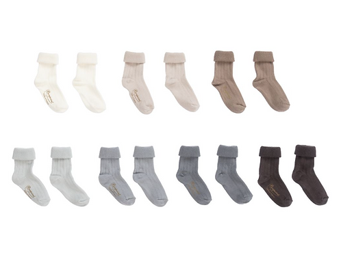 Bonpoint - Natural Cotton Socks Set