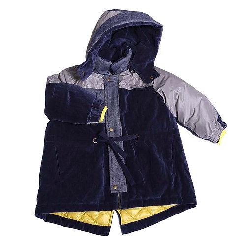 Navy Phiran Storm Coat