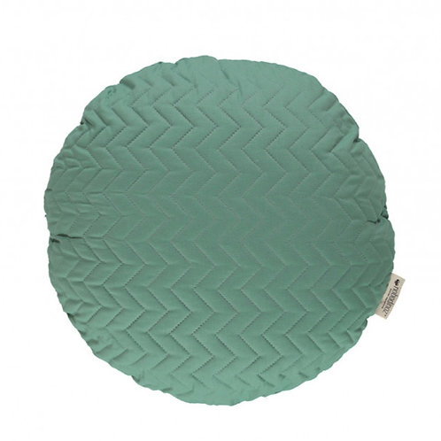 Round Shaped Cushion - Siesta Green