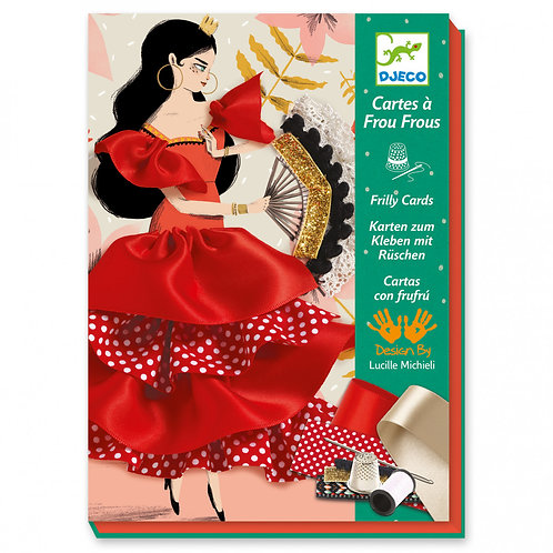 Flamenco Freely Cards Craft Set