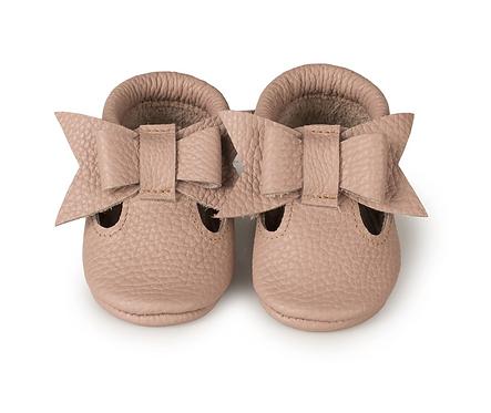 Baby Steps - Tourmaline Bow Sandal