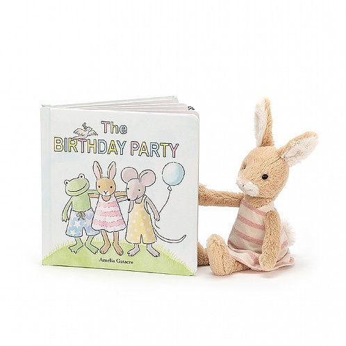 The Birthday Party Book And Party Bunny