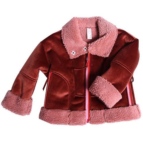 Orange/Pink Cord Jacket