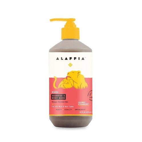 Alaffia - Shampoo & Body Wash - Coconut Strawberry