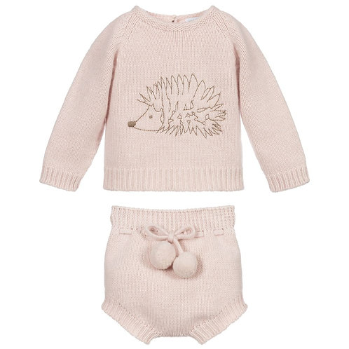 Wedoble - Pink Hedgehog Wool Set