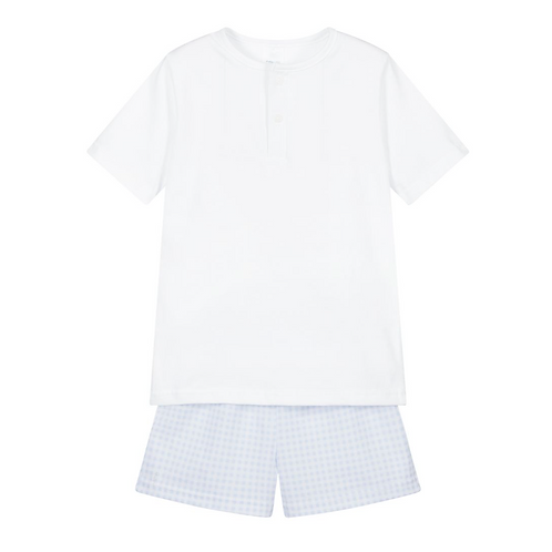 Sky Blue Pajama Set