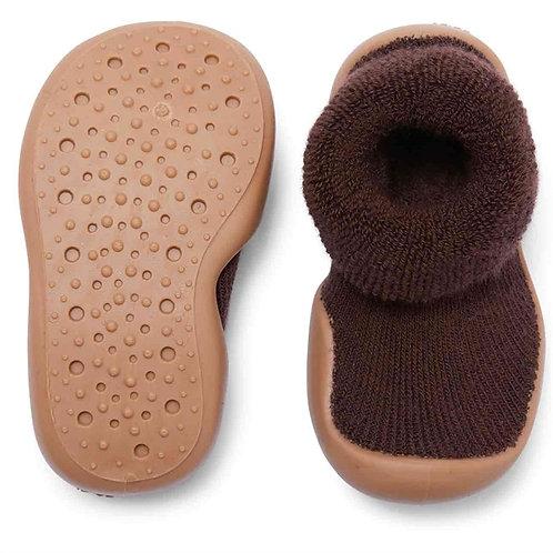 Sock Slippers - Moca