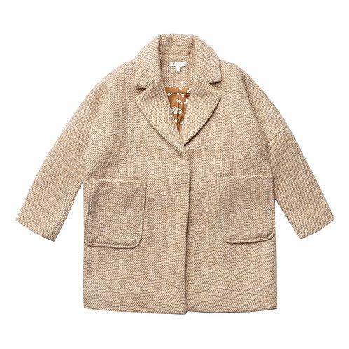 Rylee & Cru - Dusty Pink Tweed Coat