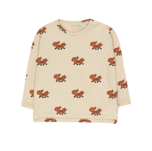 Pima Cotton Fox Tee