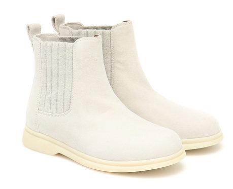 Loro Piana - Pearl Powder Suede Boots