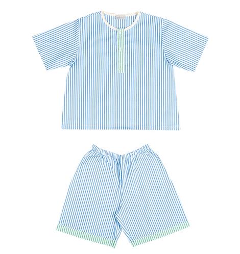 Maison Balena - Blue Stripe Pajamas