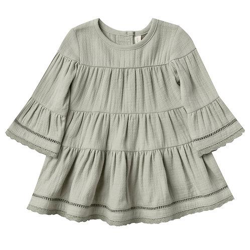 Cotton Belle Dress - Sage