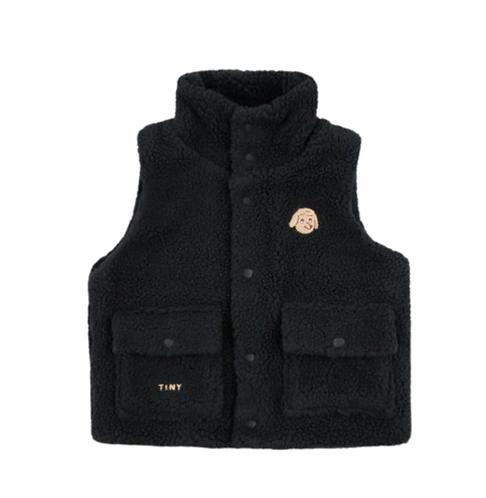 Black Doggy Vest