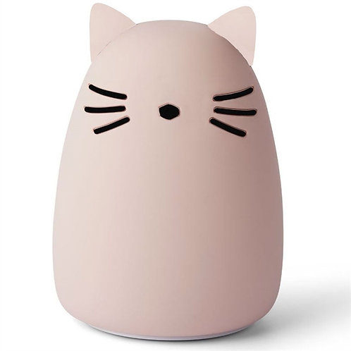 Rose Kitty Silicone Night Light