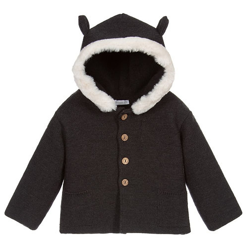 Wedoable - Merino Wool Pram Jacket - Grey