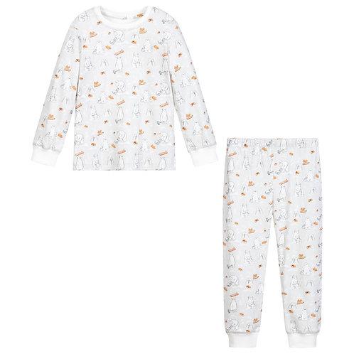 Yeti Bear Pajama Set