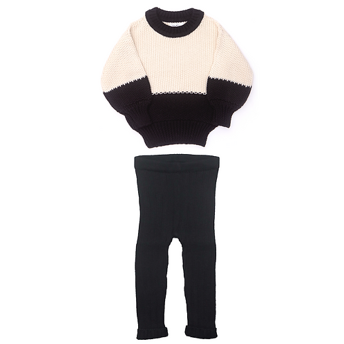 Noah Sweater & Knitted Leggings