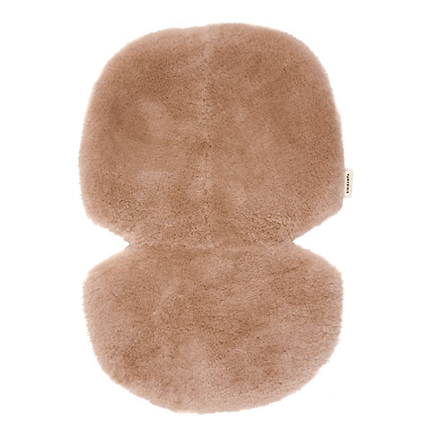 Sheepskin for Stroller and Bassinet - Dusty Pink