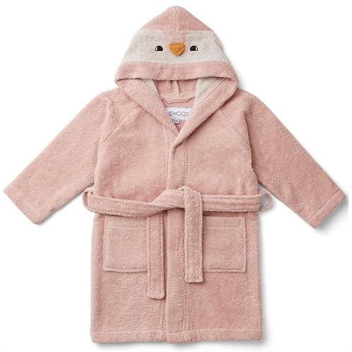 Penguin Robe - Rose