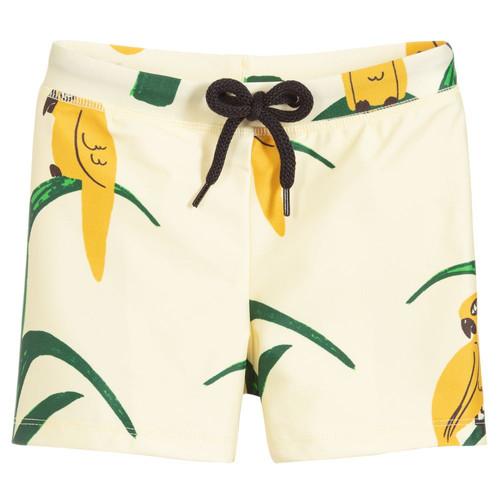 b6a5513e87ca6 Mini Rodini - Boys Yellow Swim Shorts (UPF50+)