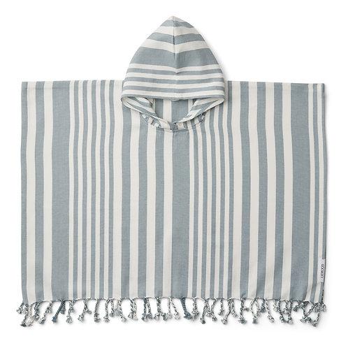 Greyish Blue Poncho